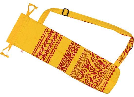 黄色のプイリケース プーイリケース ショルダータイプ カヒコ柄 puilicase-sld-0808YW 既製品 【メール便可】