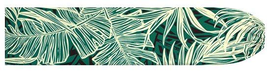 ヒスイ色のパウスカートケース ヤシ・バナナリーフ柄 pcase-2752JD 【メール便可】★オーダーメイド