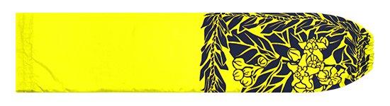 黄色のパウスカートケース クラウンフラワー・ティリーフレイ柄 pcase-2754YW 【メール便可】★オーダーメイド