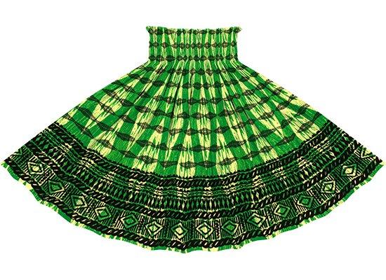 緑のパウスカート カヒコ・ボーダー柄 spau-2756GN