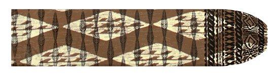 茶色のパウスカートケース カヒコ・ボーダー柄 pcase-2756BR 【メール便可】★オーダーメイド