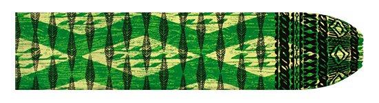 緑のパウスカートケース カヒコ・ボーダー柄 pcase-2756GN 【メール便可】★オーダーメイド