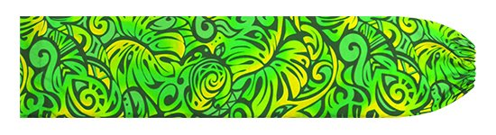 緑のパウスカートケース モンステラ・ホヌ柄 pcase-2757GN 【メール便可】★オーダーメイド