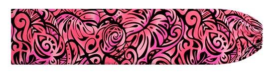 ピンクのパウスカートケース モンステラ・ホヌ柄 pcase-2757Pi 【メール便可】★オーダーメイド