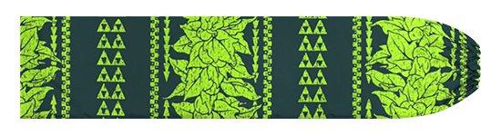 緑のパウスカートケース ククイ・カヒコボーダー柄 pcase-2758GN 【メール便可】★オーダーメイド