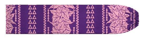 紫のパウスカートケース ククイ・カヒコボーダー柄 pcase-2758PP 【メール便可】★オーダーメイド