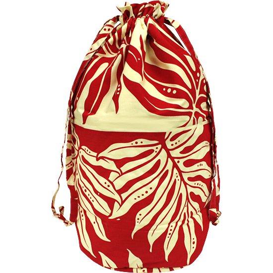 ベージュと赤のイプケース スタンダードタイプ ラウアエ・ボーダー柄 ipucase-std-2662BGRD イプバッグ 【既製品】