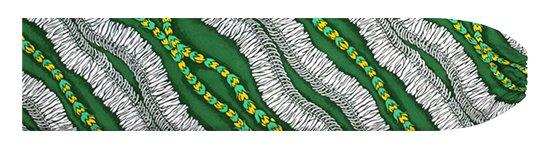 緑のパウスカートケース ホワイトジンジャーレイ柄 pcase-2760GN 【メール便可】★オーダーメイド