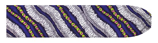 紫のパウスカートケース ホワイトジンジャーレイ柄 pcase-2760PP 【メール便可】★オーダーメイド