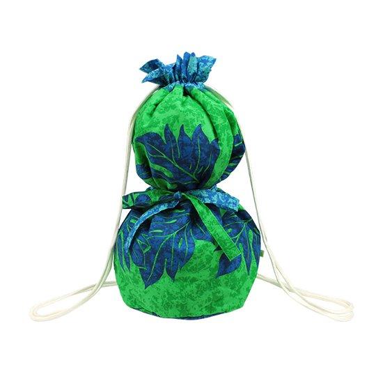 緑のイプケース リボンタイプ ウル柄 ipucase-rbn-2303GNAQ イプバッグ 【既製品】