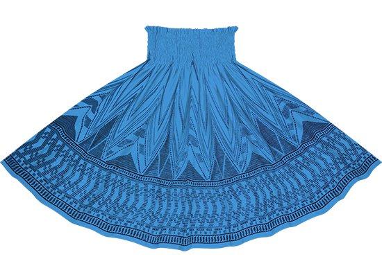 青のパウスカート カヒコ・ボーダー柄 spau-2761BL