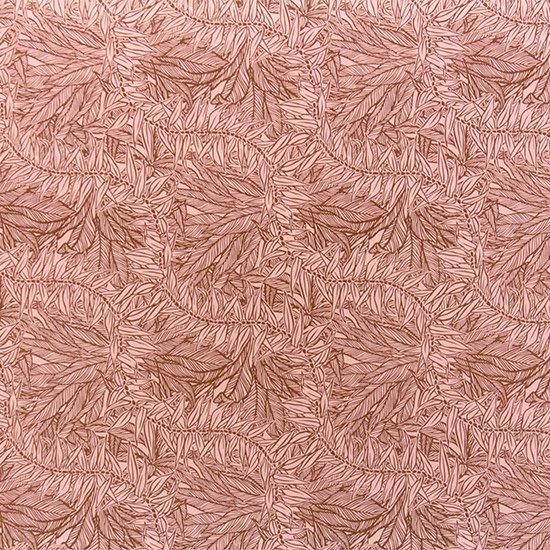 ピンクのハワイアンファブリック ティリーフ柄 fab-2764Pi 【4yまでメール便可】
