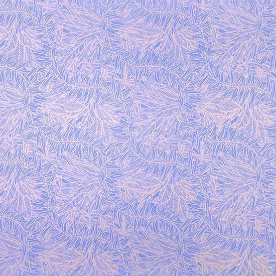 紫とピンクベージュのハワイアンファブリック ティリーフ柄 fab-2764PPPi 【4yまでメール便可】