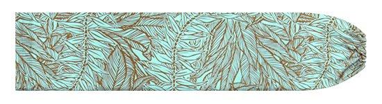 水色のパウスカートケース ティリーフ柄 pcase-2764AQ【メール便可】★オーダーメイド