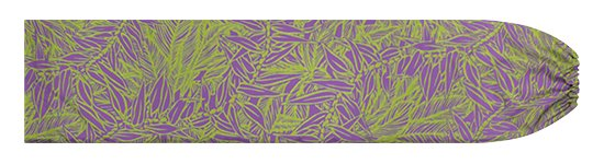 紫ときみどりのパウスカートケース ティリーフ柄 pcase-2764PPLG【メール便可】★オーダーメイド