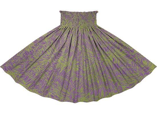 紫ときみどりのパウスカート ティリーフ柄 sprm-2764PPLG 75cm 4本ゴム【既製品】