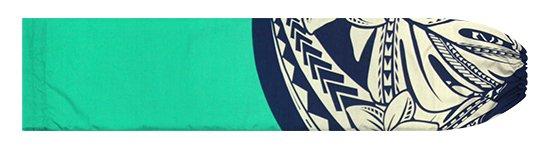 青のパウスカートケース プルメリア・モンステラ柄 pcase-2765BL【メール便可】★オーダーメイド