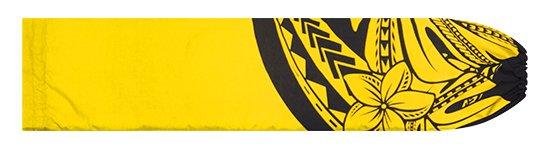 黄色のパウスカートケース プルメリア・モンステラ柄 pcase-2765YW 【メール便可】 ★オーダーメイド