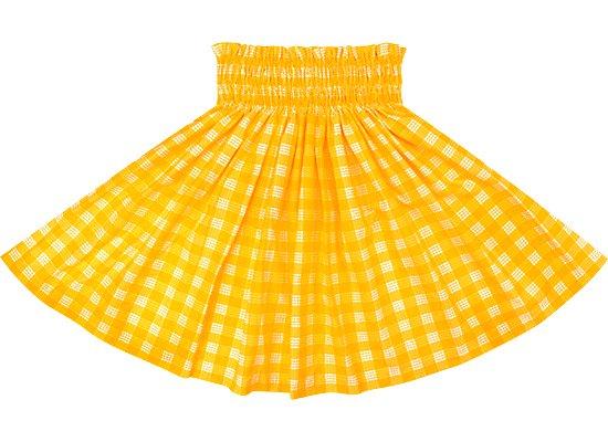 【ケイキ(子供)用】 黄色のパウスカート パラカ柄 kpau-2028YW 55cm 4本ゴム【既製品】