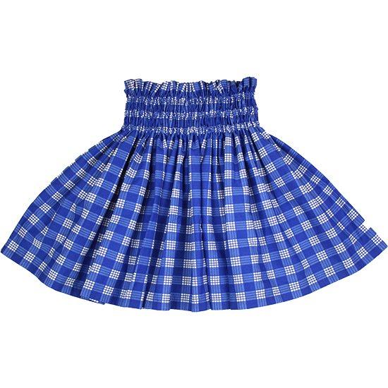 【ケイキ(子供)用】 青のパウスカート パラカ柄 kpau-2028BL 45cm 3本ゴム【既製品】