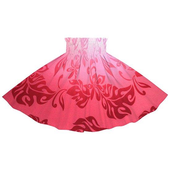 【ケイキ(子供)用】 ピンクのパウスカート ティアレ・グラデーション柄 kpau-2728Pi 55cm 3本ゴム ロック仕上げ【既製品】