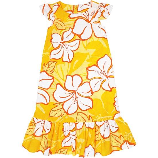 ケイキ(子ども)用 フラドレス keiki-dress-41034ds-2688YW 110サイズ【既製品】