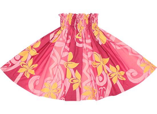 ピンクのパウスカート ティアレ・グラデーション柄 Sprm-2603Pi 73cm 4本ゴム ロック仕上げ【既製品】