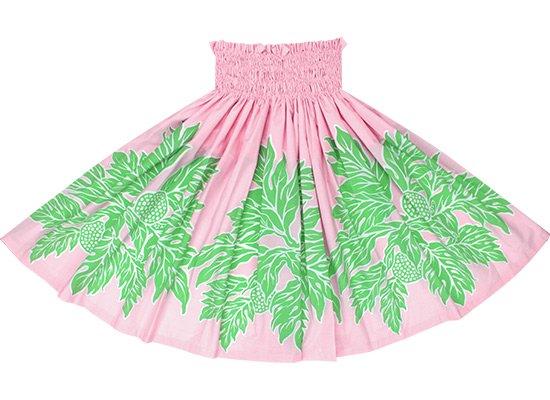 ピンクと緑のパウスカート ウル柄 Sprm-2625PiGN 72cm 4本ゴム 三つ折り【既製品】