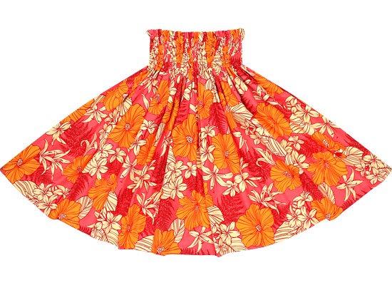 【蔵出し】ピンクのパウスカート ハイビスカス・リリー・パラパライ柄 2554PiOR