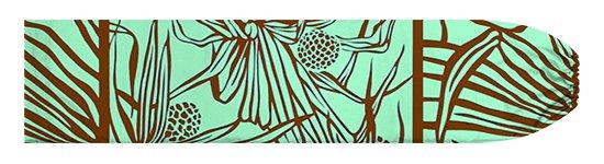 水色のパウスカートケース ハラ柄 pcase-2762AQ-M  【メール便可】 ★既製品 Mサイズ