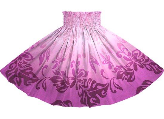 紫のパウスカート ティアレ・グラデーション柄 Sprm-2728PP 70cm 4本ゴム ロック仕上げ【既製品】