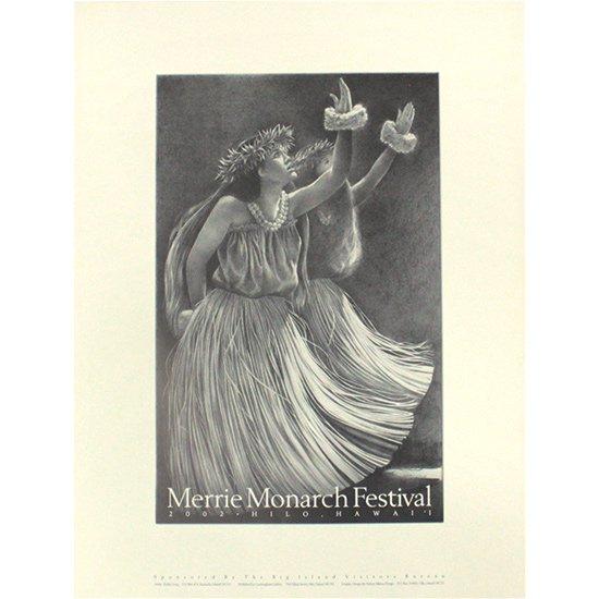 メリー・モナーク・フェスティバル ポスター 2002年