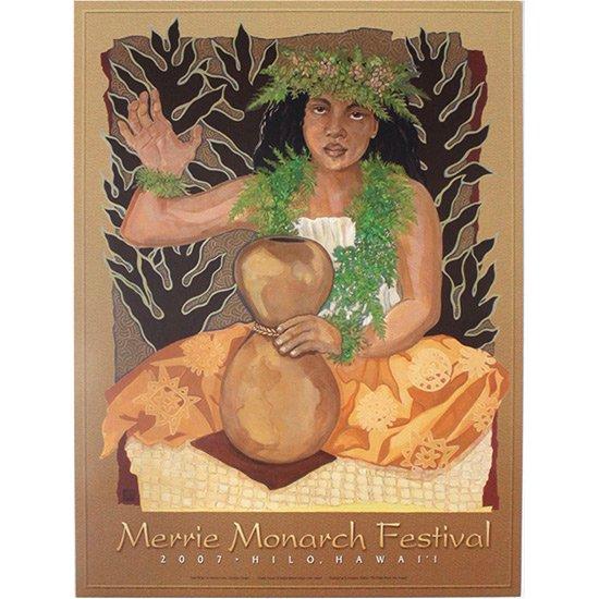 メリー・モナーク・フェスティバル ポスター 2007年