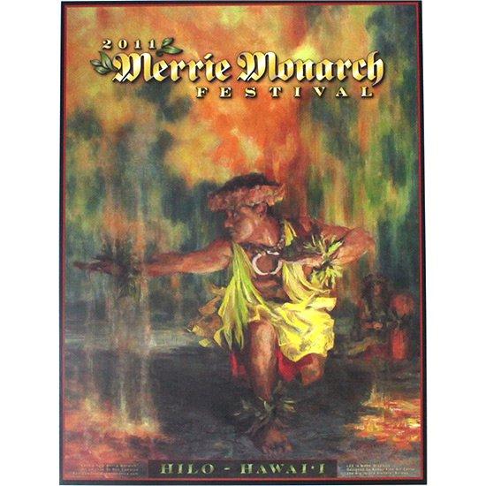 メリー・モナーク・フェスティバル ポスター 2011年