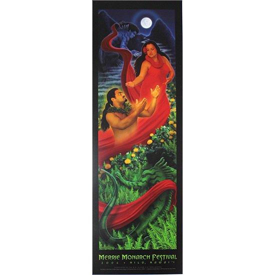 メリー・モナーク・フェスティバル ポスター 2006年