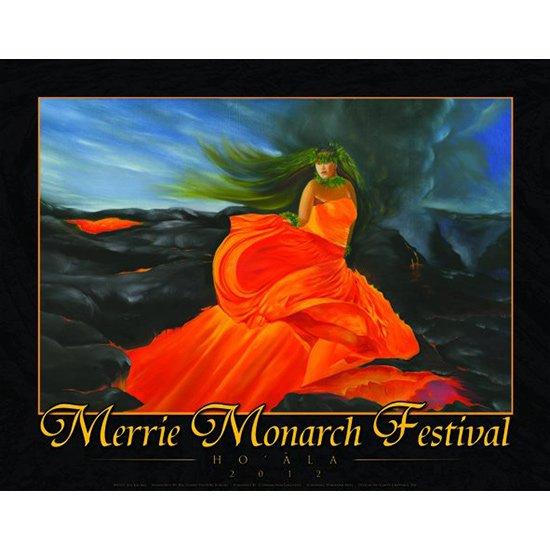 メリー・モナーク・フェスティバル ポスター 2012年