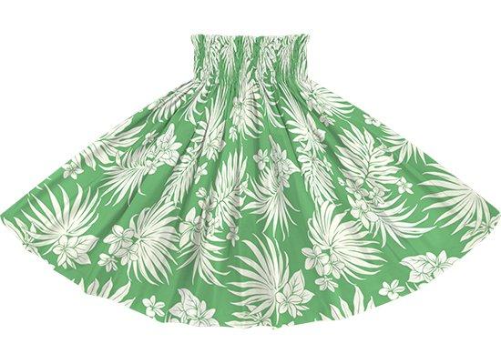緑のパウスカート プルメリア・ヤシ柄 spau-2770GN