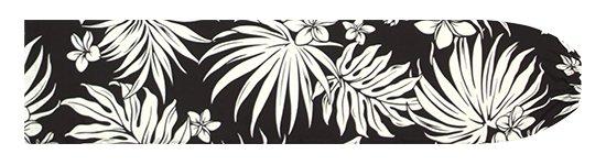 黒のパウスカートケース プルメリア・ヤシ柄 pcase-2770BK【メール便可】★オーダーメイド