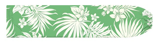 緑のパウスカートケース プルメリア・ヤシ柄 pcase-2770GN【メール便可】★オーダーメイド
