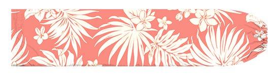 ピンクのパウスカートケース プルメリア・ヤシ柄 pcase-2770Pi【メール便可】★オーダーメイド【TS】