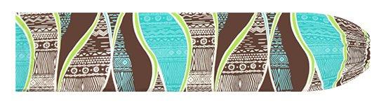 茶色のパウスカートケース カヒコ柄 pcase-2772BR【メール便可】★オーダーメイド