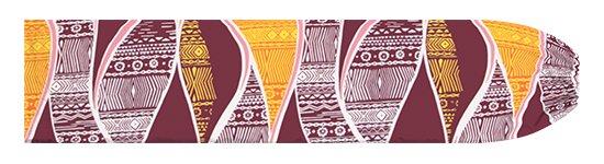 紫のパウスカートケース カヒコ柄 pcase-2772PP【メール便可】★オーダーメイド