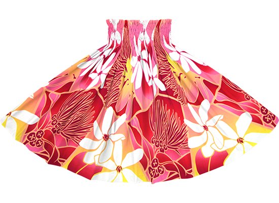 ピンクのパウスカート ティアレ・レフア・グラデーション柄 spau-2773Pi