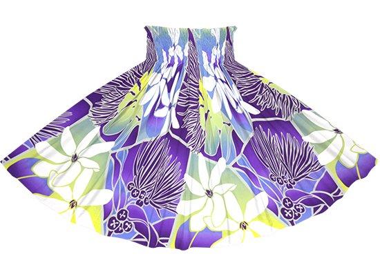 紫のパウスカート ティアレ・レフア・グラデーション柄 spau-2773PPPP