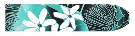 ヒスイ色のパウスカートケース ティアレ・レフア・グラデーション柄 pcase-2773JD【メール便可】★オーダーメイド
