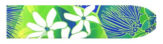 きみどりのパウスカートケース ティアレ・レフア・グラデーション柄 pcase-2773LG【メール便可】★オーダーメイド