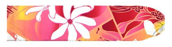 ピンクのパウスカートケース ティアレ・レフア・グラデーション柄 pcase-2773Pi【メール便可】★オーダーメイド