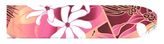紫とピンクのパウスカートケース ティアレ・レフア・グラデーション柄 pcase-2773PPPi【メール便可】★オーダーメイド