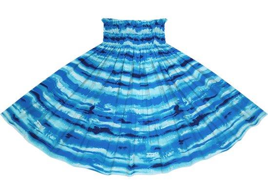 青のパウスカート イリカイ柄 spau-2774BL