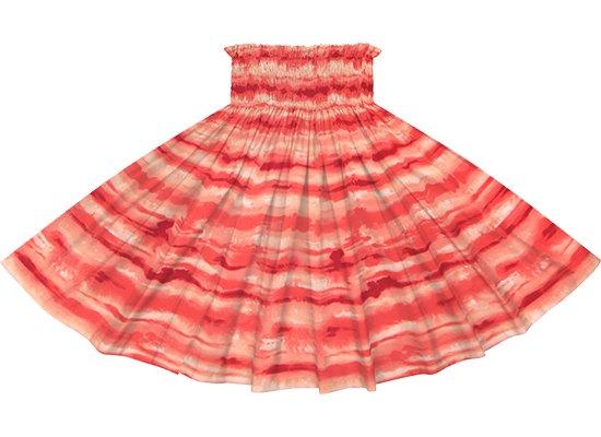 赤のパウスカート イリカイ柄 spau-2774RD